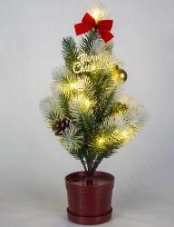 Nieuwe LEIDENE van de Kerstboom van de Stroom van het Water van de Lamp van de Bevordering Hydro Lichte Gift