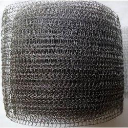 Gewölbt/quetschverband gestrickten Maschendraht für Gas und Flüssigkeit-Filter