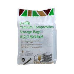 Embalagem para compressão de vácuo sacos de armazenamento
