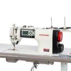 S288E Une étape informatisé entièrement automatique du moteur électrique de l'aiguille Lockstitch unique modèle de machine à coudre industrielles