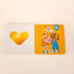 50 * 50mm 표준 메모리 카드 컷화 도매 어린이 Fun Shape 카드 유아완구 교육용 선물 박스 세트로 게임
