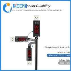 LEDデジタル表示装置USB Cの日付ケーブルの携帯電話ケーブルが付いている速い充満マイクロUSBのタイプCケーブル
