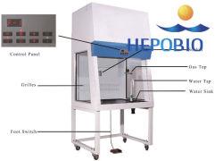 Mobiliario de laboratorio de gran capacidad de Gabinete de Seguridad Biológica Vitrina de gases
