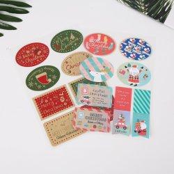 Diray der kundenspezifischen Einklebebuch-Papier-Aufkleber-Kinder des Handkonto-DIY handgemachten dekorative Belüftung-Aufkleber