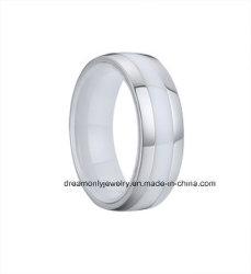 Jóia Cerâmica de Aço da Qualidade Superior do Anel da Forma para Homens