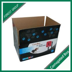 boîte en carton<br/> Corrgated emballages en papier recto verso pour le commerce de gros