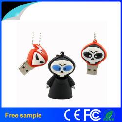 2016 de Stok van de Gift USB van Halloween van het Spook van China Manufacter