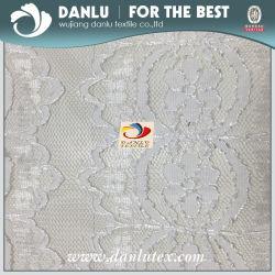 Poli/dello Spandex merletto tessuto ricamato modo di nylon/per il vestito dall'indumento