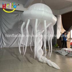Ночной клуб оформление висящих светодиод горит надувные Медузы надувные