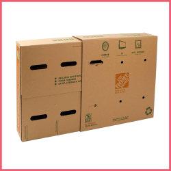 Напечатано гофрированный экраном упаковка картонная коробка телевидение перемещение картонная коробка телевизор .