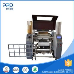 China Supplier Automatic LLDPE Stretchfilm Rewinder Machinery