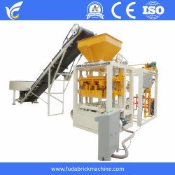Bloc de béton de pavage de brique de verrouillage de l'usine de ciment Mur creux machine de formage, la vente en gros bloc de machinerie de construction