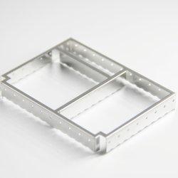 Flexión de lámina metálica de precisión hecho personalizado de alimentación digital del bastidor de protección de PCB