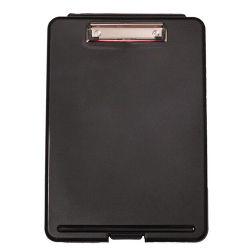 Casella di memoria di plastica di caso del documento della cancelleria con la clip dell'archivio