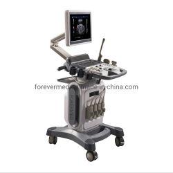 Scanner portatile medico di ultrasuono di Doppler di colore del carrello di sistema diagnostico 4D dell'ospedale