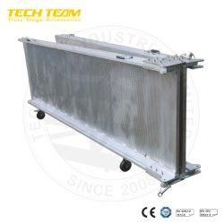 Niedrigerer Preis-flexible Walzen-Aluminiumrampen-bewegliche Rad-Stuhl-Rampen