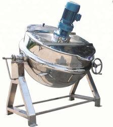 Pharmazeutischer Edelstahl-industrieller Manteldampfkochtopf