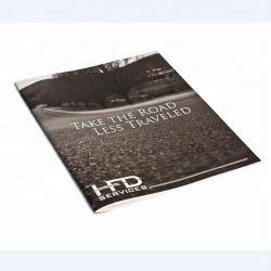 Мелованная бумага формата A4 Листовка Печать сложенного брошюра печать в Китае