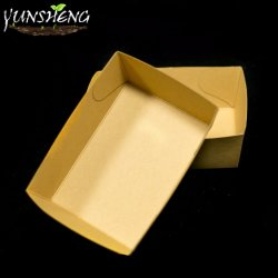 مصغّرة خضراء [كرفت] مستهلكة ورقيّة طعام صينيّة [فست فوود]
