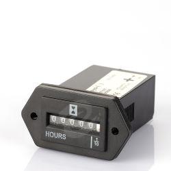 Horómetro generador de 12-80 voltios DC Medidor de horas de motor mecánico Conter temporizador