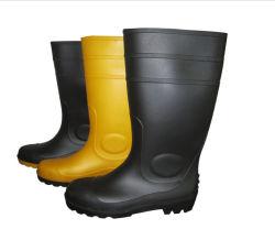Тяжелая промышленность Веллингтон ПВХ десен дождя ботинки Ce S4/S5 W-6039t