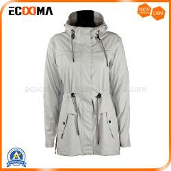 Laag van de Regen van de Regenkleding PU/PVC van het Kostuum van de Regen van het Jasje van de Regen van de nieuwe Vrouwen van de Stijl de Volwassen Waterdichte