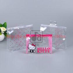 Sacchetto di imballaggio in PVC trasparente per set di cosmetici