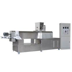 Flocos de milho Cereais de pequeno-almoço na fábrica de processamento de alimentos Snacks tornando as máquinas