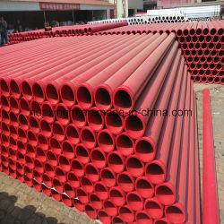 具体的なブームポンプトラックのためのDN125 St52 3metersの具体的なポンプ配達管