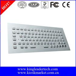 لوحة مفاتيح USB معدنية مقاومة للتخريب مع 12 مفتاحا للوظيفة