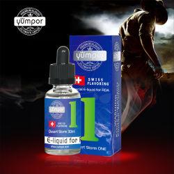 La grande Yumpor Vape Ejuice organiques pour Ecigarette avec haute Vg Série avec des échantillons gratuits