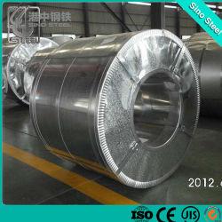 S250DG El grado de acero galvanizado de Gi Z600 con un revestimiento de zinc para la construcción