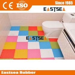 Esteira Antiderrapante de Asemmble do Toalete do Banho da Segurança à Terra Plástica do LDPE