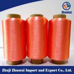 150d/36f яркий полиэстер Вся обшивочная ткань шитье поток