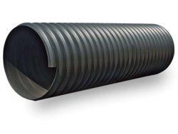 La fábrica de HDPE grande de plástico ondulado de doble pared del tubo de drenaje tubo PE de DN 500 mm