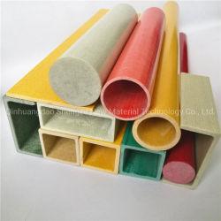 Perfis de plástico reforçado com fibra de vidro composto, PRFV Perfil Pultrusion