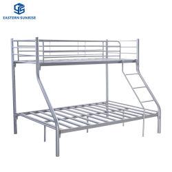 Metálica de acero dormitorio triple camas en literas completa para la escuela