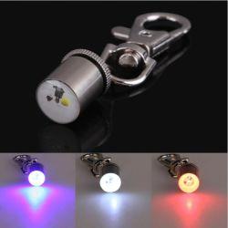 Tegenhanger Keychain van de Lamp van de Flits van de LEIDENE de Lichte Halsband van het Huisdier Mini