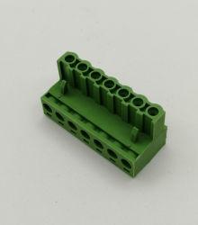 OEM 5.08mm EindBlok van de Schakelaar van PCB Plugable van de Hoogte het Mannelijke