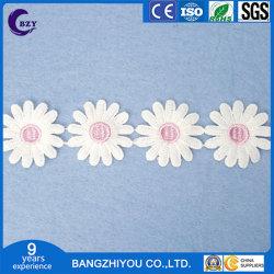 우유 실크 수용성 레이스 고급 색깔 레이스 바코드 일요일 꽃 자수 홈 직물