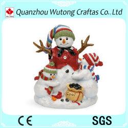 La resina Decoración de Navidad Muñeco de Nieve la figura de resina de vacaciones productos