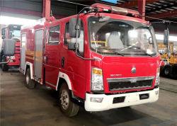 HOWO에 의하여 사용되는 4X2 물 공항 소방차 화재 싸움 트럭