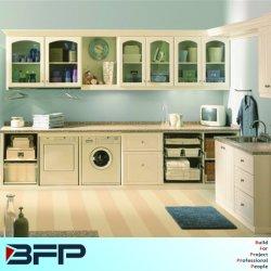 Cabinetry bianco della lavanderia della lacca della mobilia cinese moderna