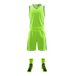 Insieme su ordinazione dell'uniforme di pallacanestro di sublimazione di Healong di pallacanestro del Reversible di sport della Jersey di usura all'ingrosso uniforme su ordinazione della squadra