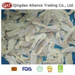 El pescado salado seco las migas con la máxima calidad