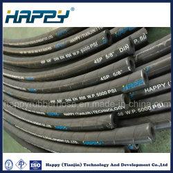 En 856 4sp высокого давления спирального провода резиновых шлангов гидравлической системы
