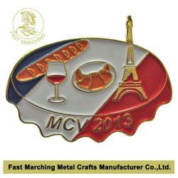 ديكور مخصص لالملابس بالجملة لباس المينا الصلب علامة المينا المعدني
