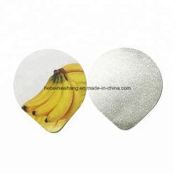 95mm stempelschnitten Aluminiumfolie-Kappe für Joghurt-Cup