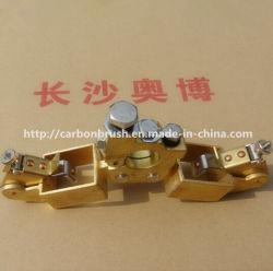 Diseño personalizado de anillo de deslizamiento del conjunto de soporte de escobillas de carbón para las ventas