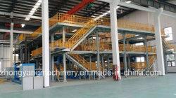CE-Zertifikat Zy-3200mm SMMS Produktionslinie für PP Spun Bond Nicht gewebtes Gewebe, das für Reinigungstücher verwendet wird